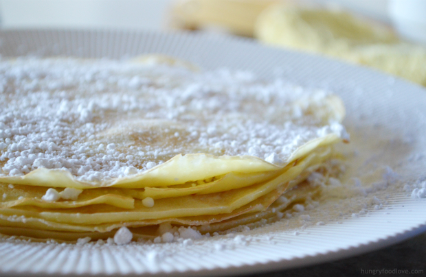 swedish pancakes by www.hungryfoodlove.com perfect for a beautiful brunch