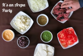 venezuelan arepas party by HungryFoodLove
