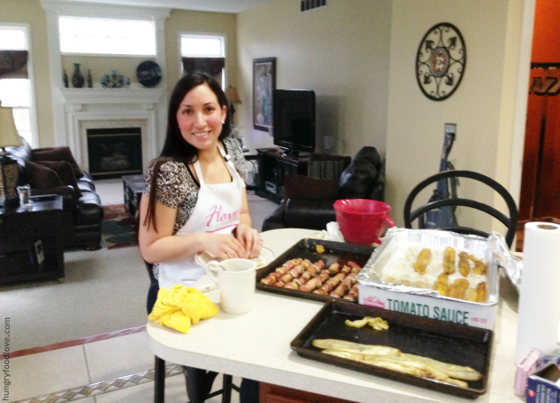 Cooking for Chef Daisy Martinez