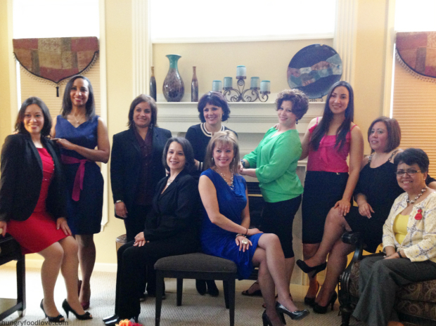 Latinas Unidas Board of Directors with Chef Daisy Martinez