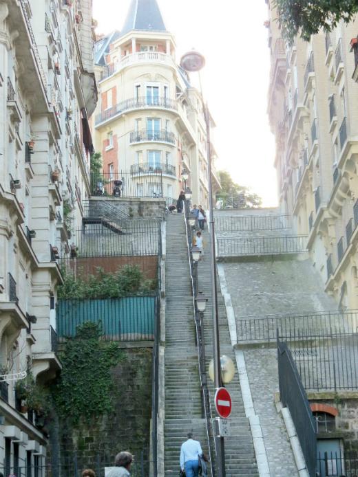 Adventures in Montmatre Paris