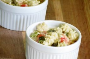 Queso Blanco Dip Style Mac and Cheese