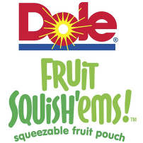 Dole Fruit Squish'ems Convenient Fruit Snack